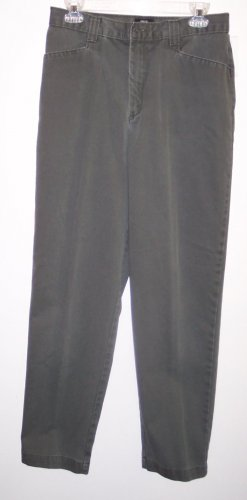 Lee Casuals Slacks Khakis Pants Size 12 141-457 Once Is Never Enough