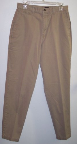 Dockers Casual Slacks Pants Khakis Size 12 Long 141-472  Once Is Never Enough