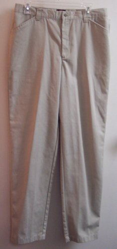Riders Casuals Khakis Pants Slacks Size 12 Long Tall 141-462