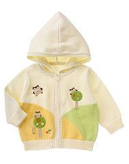 NWT Gymboree Forest Friends Knit Hoodie Size 6 - 12 Months location8