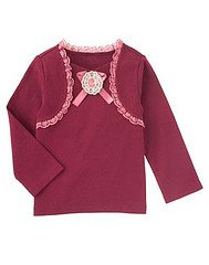 NWT Gymboree Labelle La Belle Epoque Lace LS Tee Size 6 Easter