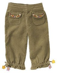 Gymboree NWT Autumn Highlands Corduroy Pants Sz 18 - 24 Months
