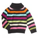 Gymboree NWT Imaginary Friends Turtleneck Striped Sweater Sz 6