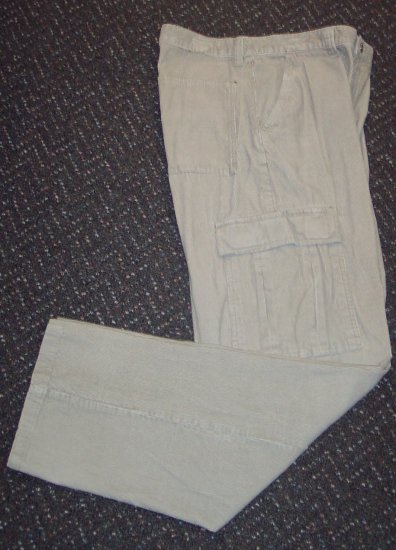 Mens Faded Glory Corduroy Slacks Pants Size 34 X 34 517-14 Once Is Never Enough