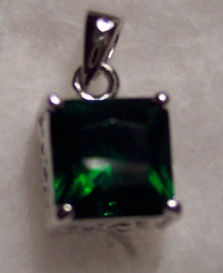 New Swarovski Crystal Reversible Silver Rhodium Pendant Drop Slide 621-33 621-71 locationD1