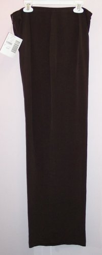 NWT Casual Corner Brown Silk Dress Pants Size 8 686-80
