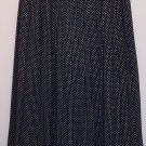 Vintage Chaus Pleated Black White Polka Dot Skirt Size 6 box9