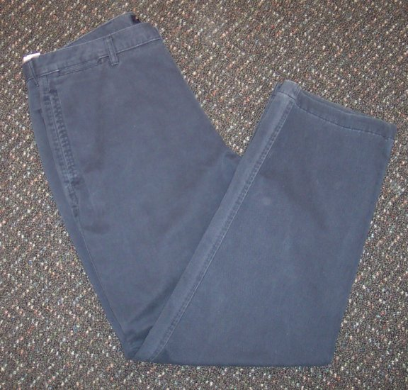 Navy Dockers Khakis Mens Casual Slacks Pants Waist 38 Inseam 32 101-37h locw19