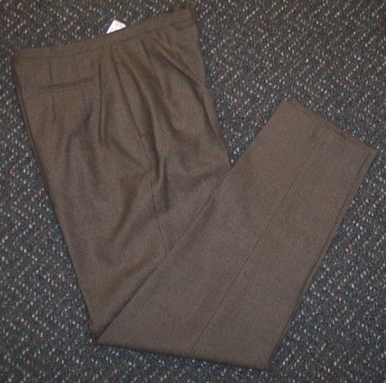 NWOT Morton Bernard Dress Slacks Pants Size 10T 10 Tall 101-h07