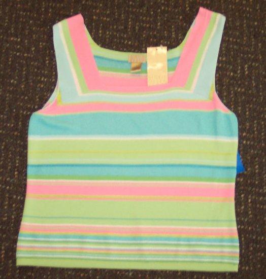 NWT Sigrid Olsen Sport Knit Top Size L 192-657