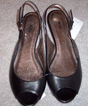 Mossimo NWT Black Slides Size 8.5 8 1/2 101-3887 loc38