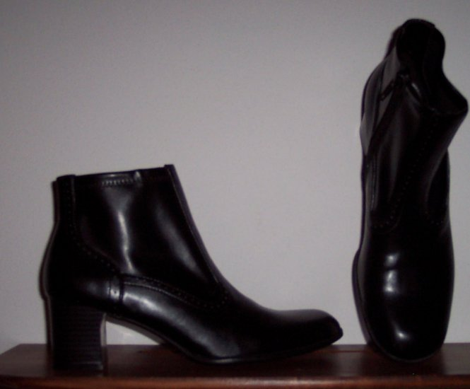 NWOT Croft & Barrow Round Toe Black Boot Size 7M