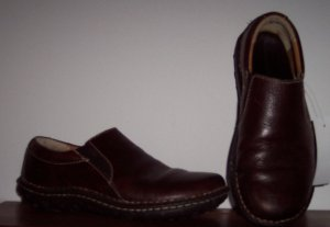 """Ivy"" Canyon Rivers Blues Casual Brown Leather Shoes Size 8M 101-4138 loc38"