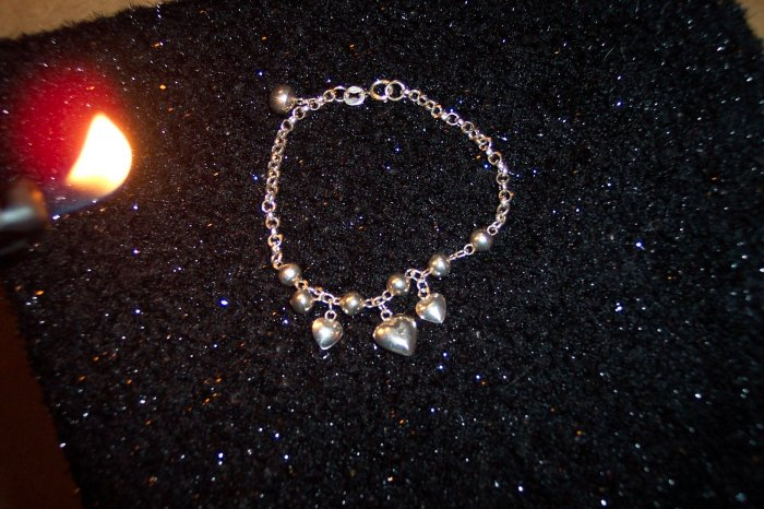 Petite Delicate Sterling Silver 925 Bracelet Circle Box Chain Link with Charms 101-01br LocationD1