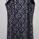 Vintage BLONDIE AND ME Rockabilly Retro Hippie Halter Mini Dress ~ Size 9/10 101-4224