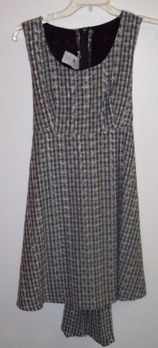 Vintage LA BELLE Baby Doll Babydoll Boho Hippie Rockabilly Mini Dress Size 5 101-4226h