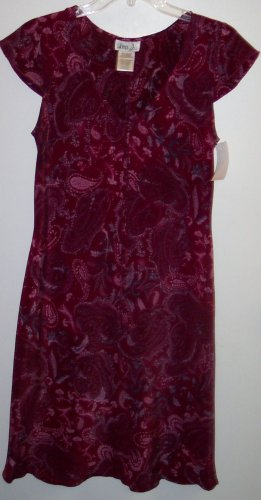 Vintage LISA JO Retro Boho Rockabilly Hippie Dress ~ Size Medium M ~ 154-241