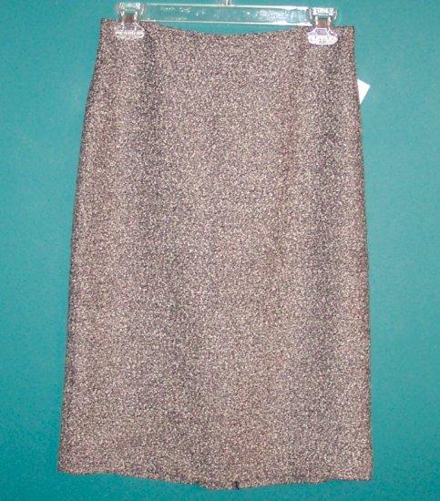 Vintage Iz Byer California Black White Tweed Knit Skirt ~ Size 5 ~ 101-3102 box9