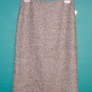 Vintage Iz Byer California Black White Tweed Knit Skirt ~ Size 5 ~ 101-3102 box9