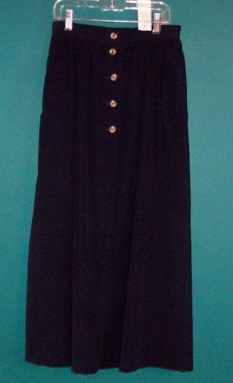 NWOT Lands End Navy Corduroy Full Skirt ~ Size 4 ~ 101-3409 box9