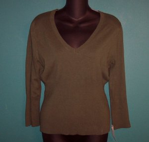 Knit Mossimo Green Rockabilly Top ~ Size M ~ 101-0005h location85