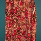 Sag Harbor Elegant Floral Flower Skirt ~ 16 ~ 101-441h location87