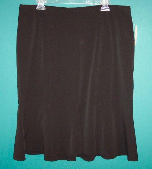 Lane Bryant Black Full Swing Skirt 16 101-13hskirt location9