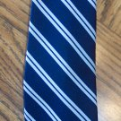 Marshall Field & Company Men&#39;s Mens Necktie Neck Tie ~ Blue Stripe ~ Vintage ~ 101-11htie location98