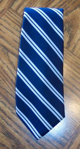 Marshall Field & Company Men's Mens Necktie Neck Tie ~ Blue Stripe ~ Vintage ~ 101-11htie location98