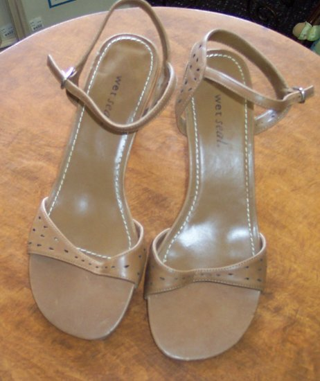 Wet Seal Womens Sandals Slides Mules ~ Shoes ~ 8.5 8 1/2 ~ 101-4968