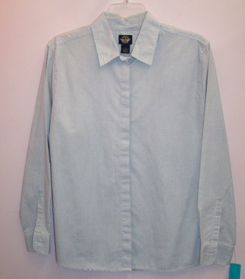Dockers LS Blouse Shirt Top ~ Size L Large ~ 101-5069h location86
