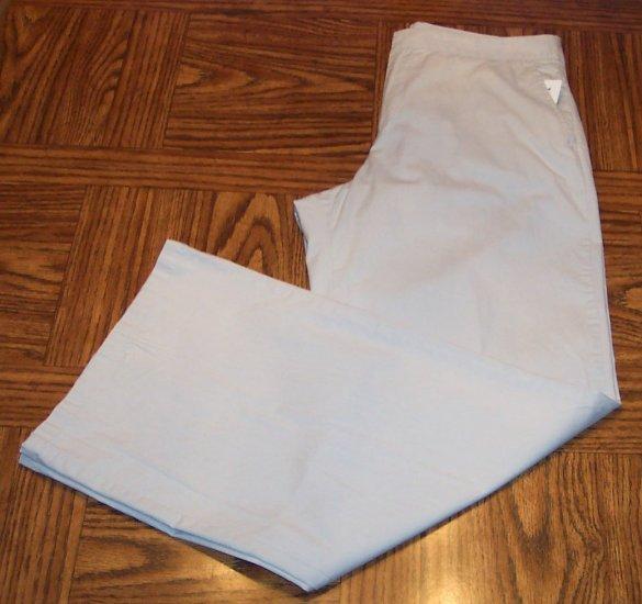 Vintage THE LIMITED Wide Leg Casual Slacks Gray Khaki PANTS Size 10 101-4861 location95