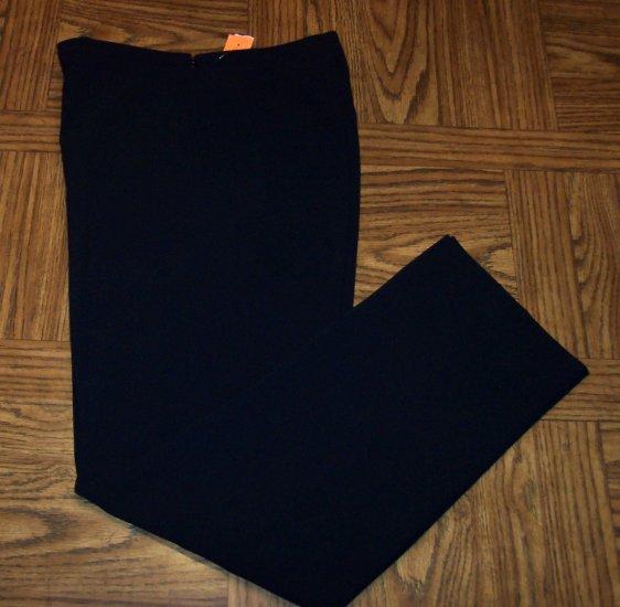 Ann Taylor Dress Slacks Black Pants Size 6 101-003h location86