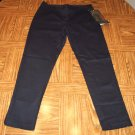 NWT Vintage Blues Casual Black Capri Pants Size 7 101-001h location86