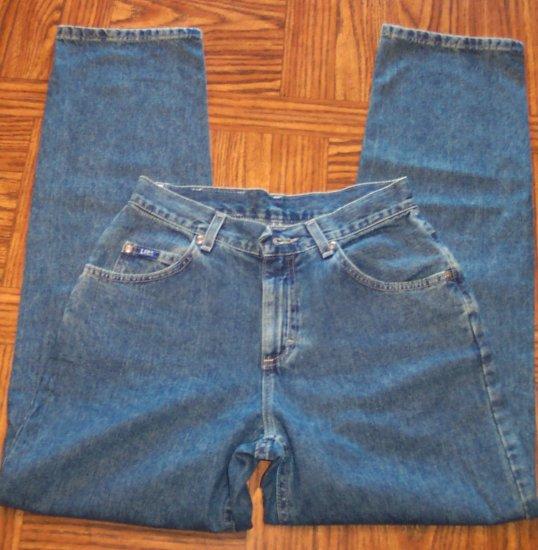 Lee Original Jeans Size 6 Boot Cut 109-5h Dark Vintage Blue Wash location86