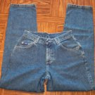 Lee Original Jeans Size 6 Boot Cut 109-5h Dark Vintage Blue Wash location86