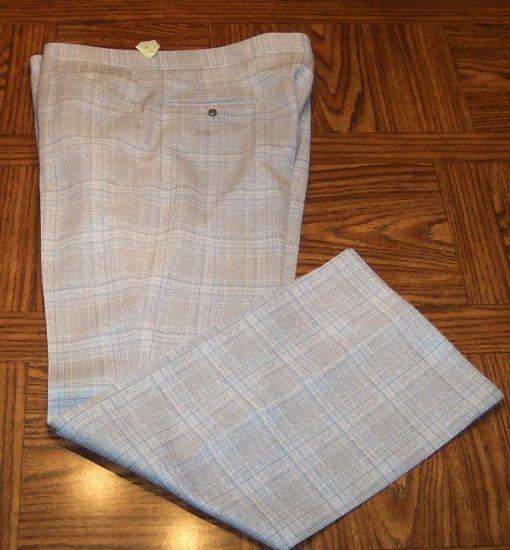 Mad Men Retro Rockabilly Disco Haggar Expand-o-matic Mens Men's Golf Pants  42 x 30 101-h14 locw19