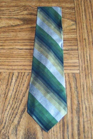 Vintage Tie Diagonal Stripe ~ Men's Mens Necktie Neck Tie 101-17htie Ties location98