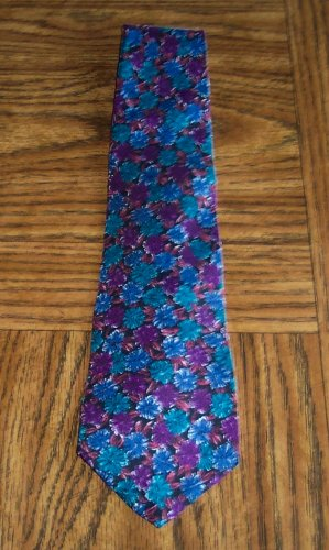 Lord & Taylor Floral Print Men's Mens Necktie Neck Tie 101-28htie Ties location98