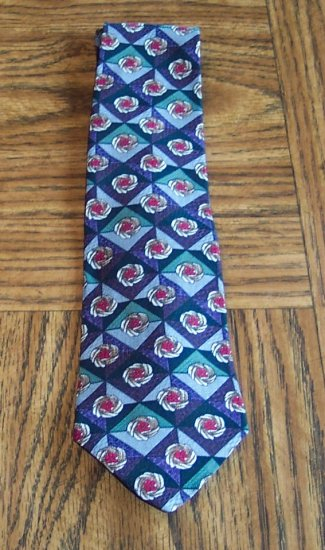 Buckingham Floral Geometric Print Men's Mens Necktie Neck Tie 101-32htie Ties location98