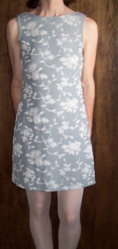 NWT JALATE Retro Mod Romantic Sheath Dress Minidress Size S Small  101-6hdress location97