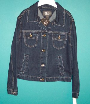 ID Wear Identity Denim Jacket ~ Size S Small ~ 101-2753h location94