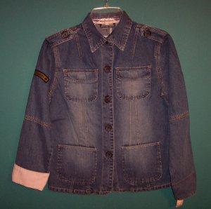 RUFF HEWN Denim Jacket ~ Size S Small ~ 101-9hjacket location94