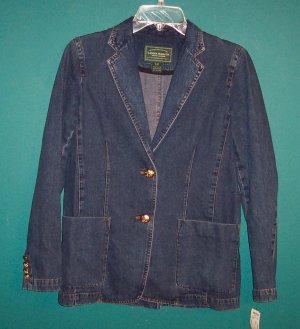 LAUREN JEANS Co Ralph Lauren Denim Jacket Size P/P 101-2922hjacket location95