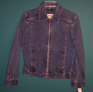 VTG Eddie Bauer Denim Jacket S Small 101-2092hjacket location95