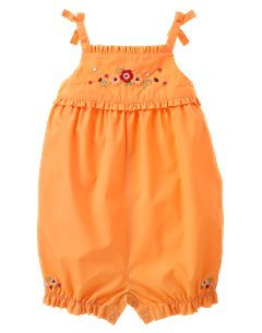 Gymboree NWT Fiesta Del Sol Romper Orange Fruit Size 18-24 Months location11