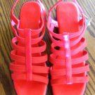 "Red Fanfares Strappy Sandals ""Joey"" Shoes Size 9 101-87278 location87"