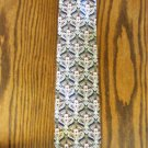 Vintage Navy Haggar Abstract Paisley Print ~ Men's Mens Necktie Neck Tie 101-46htie Ties location87