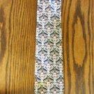 Vintage Navy Haggar Abstract Paisley Print Men's Mens Necktie Neck Tie 101-46htie Ties location87