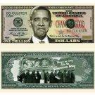 (10) BARACK Obama NOBAMA 2012 TRILLION DOLLAR BILL NOVELTY Bills